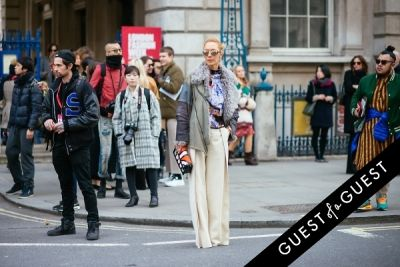 elina halimi in London Fashion Week Pt 2