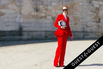elina halimi in Paris Fashion Week Pt 3