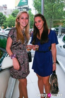 natalie grossman in Maserati of Manhattan & Gotham Magazine's Experience:Italy Event
