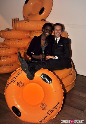 elisha krauss in Veuve Clicquot celebrates Clicquot in the Snow