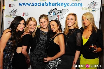 elizabeth dimond in SocialSharkNYC.com Launch Party