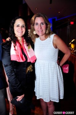 elizabeth eberhardt-thorp in Newsbabes Bash For Breast Cancer