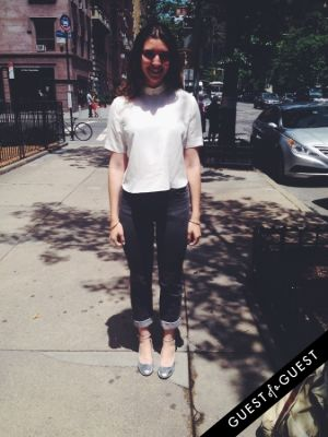 elizabeth goodspeed in Summer 2014 NYC Street Style