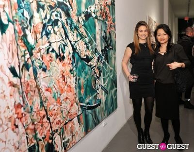 jennie ma in Pia Dehne - Vanishing Act Exhibition Opening