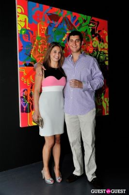 michael fader in Young Art Enthusiasts Inaugural Event At Charles Bank Gallery