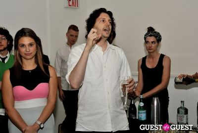 ryan mcginness in Young Art Enthusiasts Inaugural Event At Charles Bank Gallery