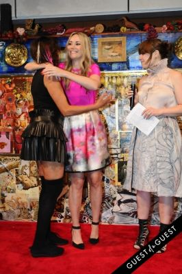 elizabeth kurpis in 2014 Chashama Gala