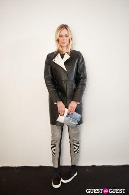 elizabeth minett in NYC Fashion Week FW 14 Street Style Day 1