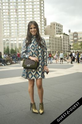 elizabeth savetsky in NYFW Style from the Tents: Street Style