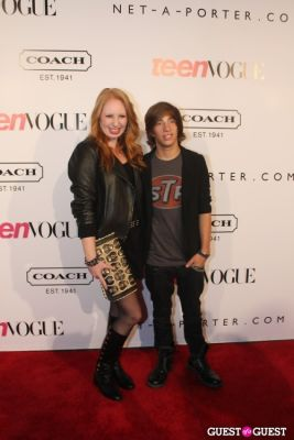 elizabeth stanton in 9th Annual Teen Vogue 'Young Hollywood' Party Sponsored by Coach (At Paramount Studios New York City Street Back Lot)