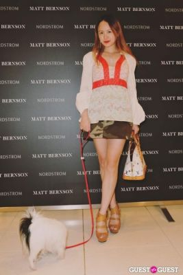 elle ellis in The Launch of the Matt Bernson 2014 Spring Collection at Nordstrom at The Grove