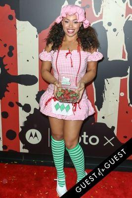elle varner in Heidi Klum's 15th Annual Halloween Party