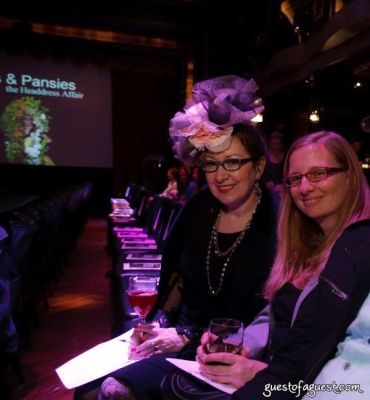 ellen christine in VCNY Tulips & Pansies - A Headdress Affair