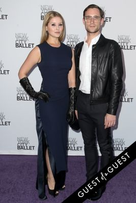 elysia dawn-ramasar-and-andrew-kaminski in NYC Ballet Fall Gala 2014