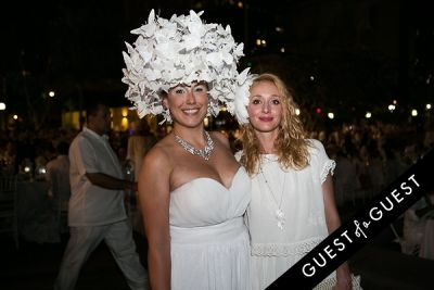 emilie parylak in Le Diner En Blanc Los Angeles 2015