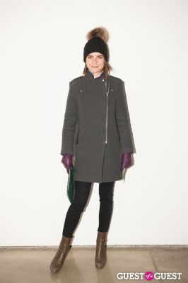 emily ramshaw in NYC Fashion Week FW 14 Street Style Day 6