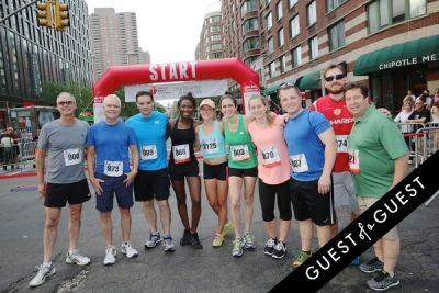 emily templeton in American Heart Association Wall Street Run