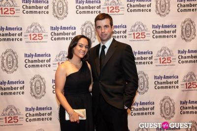 emily walsch in Italy America CC 125th Anniversary Gala