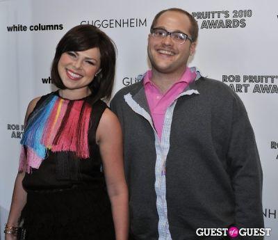 emma hall in Rob Pruitt's 2010 Art Awards