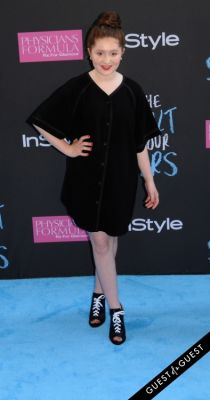 emma kenney in The Fault In Our Stars Premiere