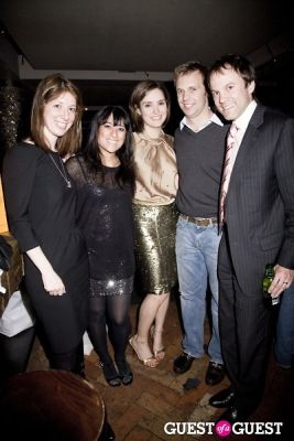 david rhodes in Bloomberg Anchor Margaret Brennan's Birthday Party at The Collective