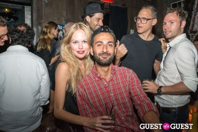 emma stern-and-arash in Vs Magazine Launch Party
