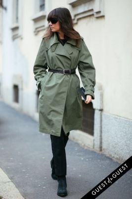 emmanuelle alt in Milan Fashion Week PT 2