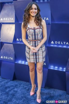 emmy rossum in Delta Air Lines Hosts Summer Celebration in Beverly Hills