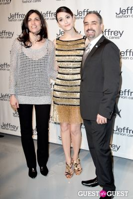 emmy rossum in Jeffrey Fashion Cares 10th Anniversary Fundraiser