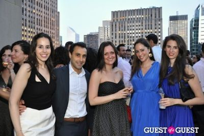 emmy salama-caro in AFTAM Young Patron's Rooftop SOIREE