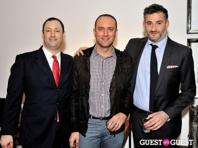 eran evron in Luxury Listings NYC launch party at Tui Lifestyle Showroom