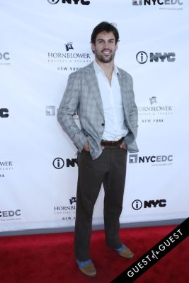 eric decker in Hornblower Re-Dedication & Christening at South Seaport's Pier 15