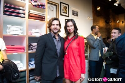 amanda franklin in GANT Spring/Summer 2013 Collection Viewing Party