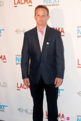 eric ladin in UNICEF Next Generation LA Launch Event