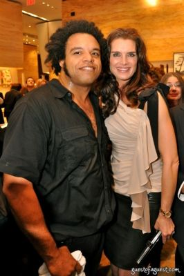 brooke shields in Fendi Book Launch Party for John Baldessari: A Catalogue Raisonne of Prints and Multiples
