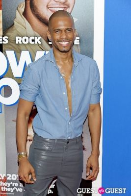eric west in Grown Ups 2 premiere