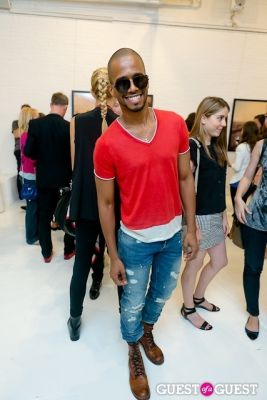 eric west in Tyler Shields and The Backstreet Boys present In A World Like This Opening Exhibition