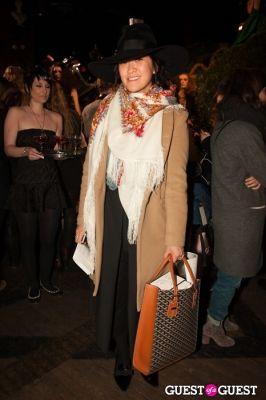 erica coffman in NYC Fashion Week FW 14 Street Style Day 5