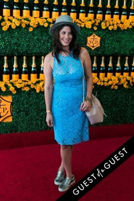 erica domesek in The Sixth Annual Veuve Clicquot Polo Classic Red Carpet