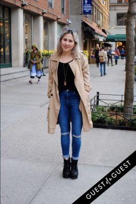 erica rawald in NYU Street Style 2015