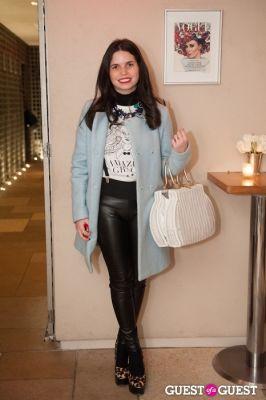 erica stinglitz in NYC Fashion Week FW 14 Street Style Day 2