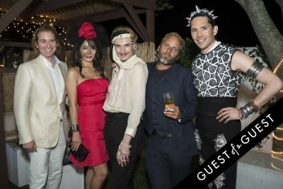 shane dyckman in The Untitled Magazine Hamptons Summer Party Hosted By Indira Cesarine & Phillip Bloch