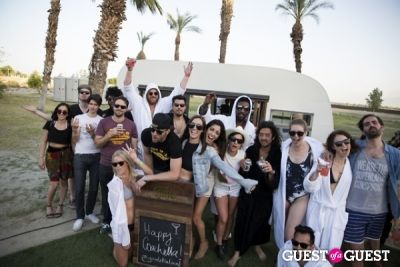 leila ladjevardian in Coachella: Dolce Vita / J.D. Fisk House Party