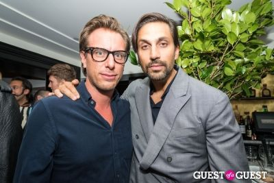 jens grede in H&M and Vogue Between the Shows Party