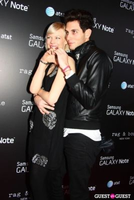 gabe saporta in AT&T, Samsung Galaxy Note, and Rag & Bone Party