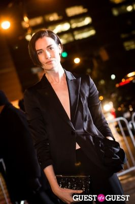 erin o-connor in Giorgio Armani One Night Only NYC event.