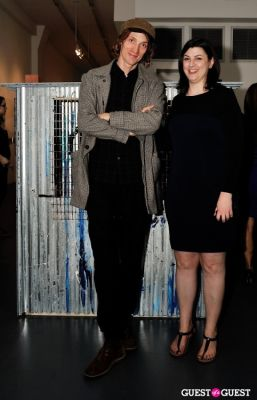 gina fraone in Conor Mccreedy - African Ocean exhibition opening