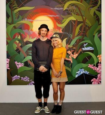 eske kath in Eske Kath - Blackboard Jungle Exhibition Opening Reception