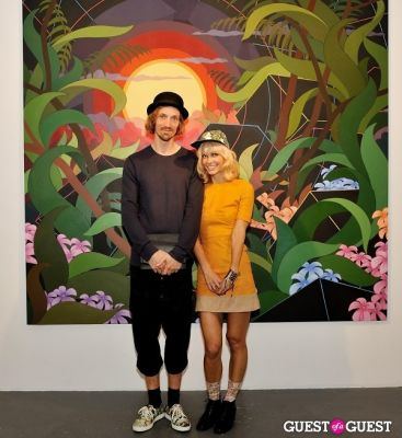 oh land in Eske Kath - Blackboard Jungle Exhibition Opening Reception