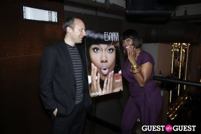 michel kunz in Launch Party: Esnavi Live Nail Polish Collection by Dazzle Dry